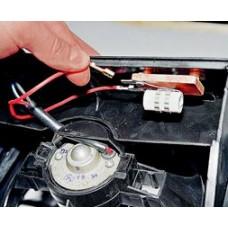 Замена электромотора вентилятора